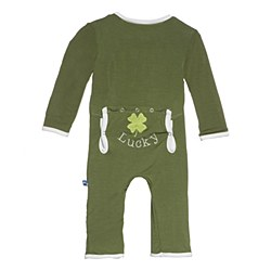 Coverall 0-3m Moss Clover